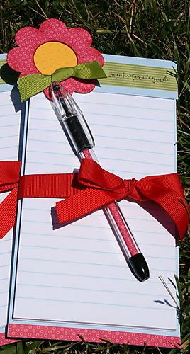 Teachers notepad