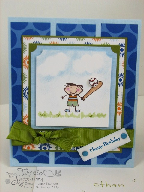 Little boy card