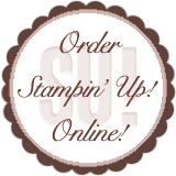 Click here to begin shopping online. Then click the SHOP NOW button in the upper right corner of my Stampin' Up! website!